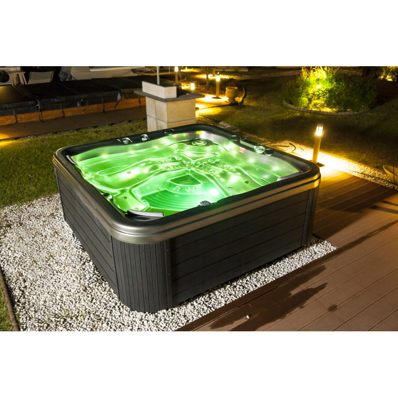 European 5 person jacuzzi promotion price for Swim spa in garage