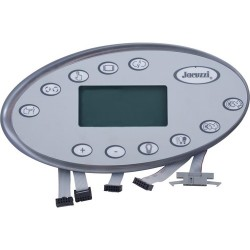 Jacuzzi® Hot Tub Topside LCD J-400 2 pomps