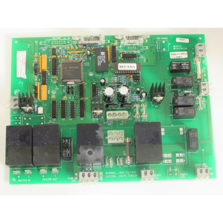Jacuzzi® Printed Circuit Board J400 LCD 2 PUMPS Part No. 6600.062