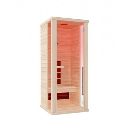 cabina a raggi infrarossi per 1 persona