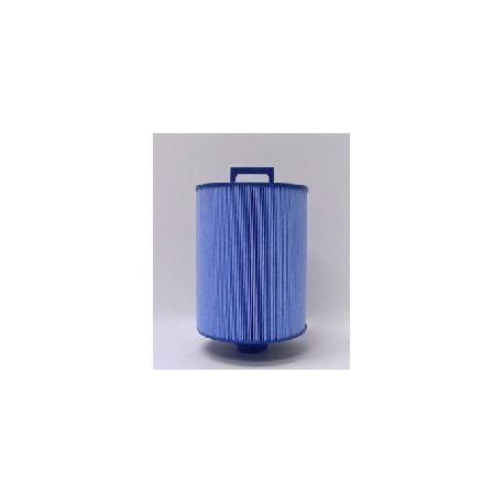 Blauwe antibacteriële filter() grove schroefdraad