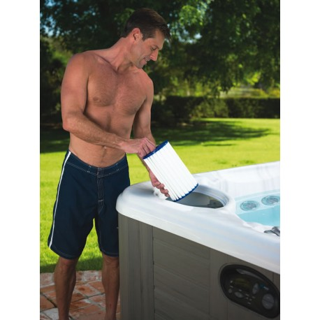 How to maintain a spa / hottub