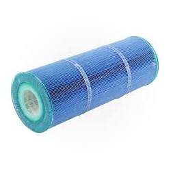 blue antibacterial filter with dual core system