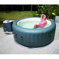 Der Unterschied zwischen aufblasbarem Spa / Spa Intex und Whirlpool