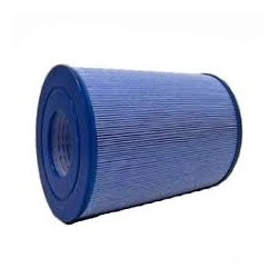 Blauwe antibacteriële filter