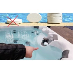 Can Pool Chemical products( chlorine ) Be Used for jacuzzi? possible damages?