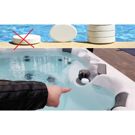 Puis je utiliser du chlore de piscine dans le jacuzzi - Pastille chlore piscine gonflable ...