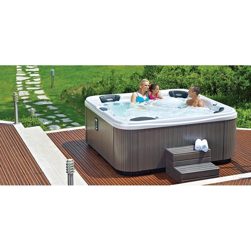 Premium spa 6 places for Swim spa in garage